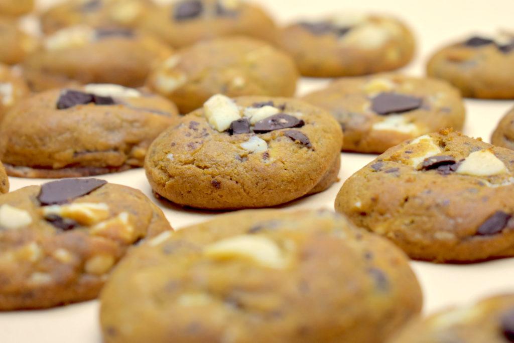 Vegan Chocolate Banana Cookies Biscuit