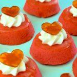Rosewater Apple Cupcakes