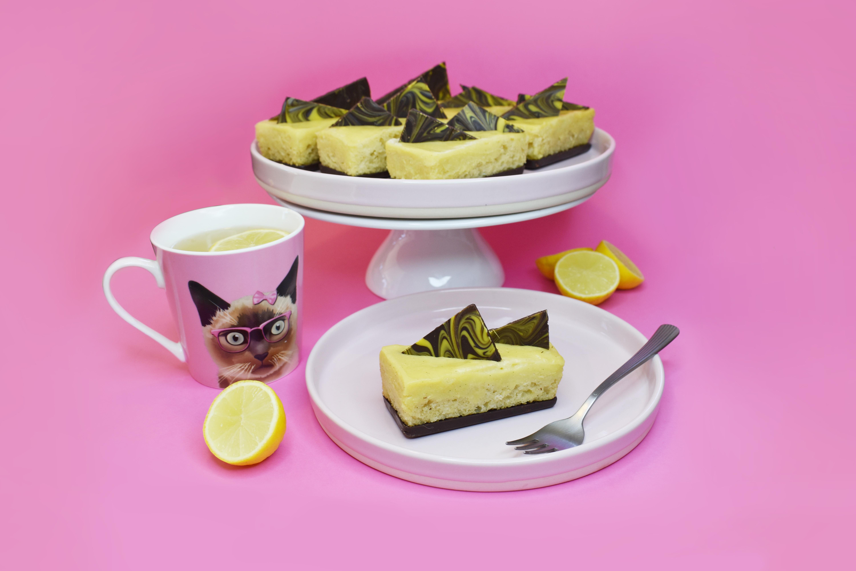 Vegan Lemon Sponge Bars_photo by Sara Kidd