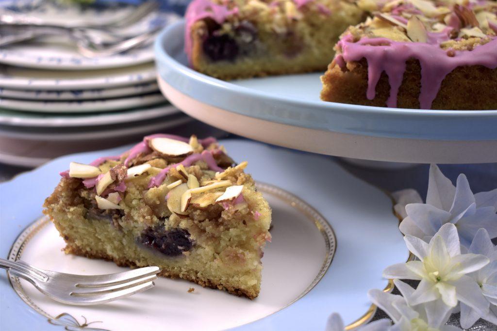 vegan cherry cake recipe
