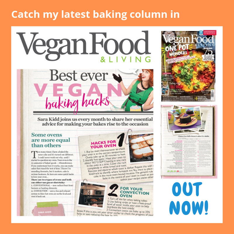 Sara Kidd, Columnist for Vegan Food and Living UK Mag