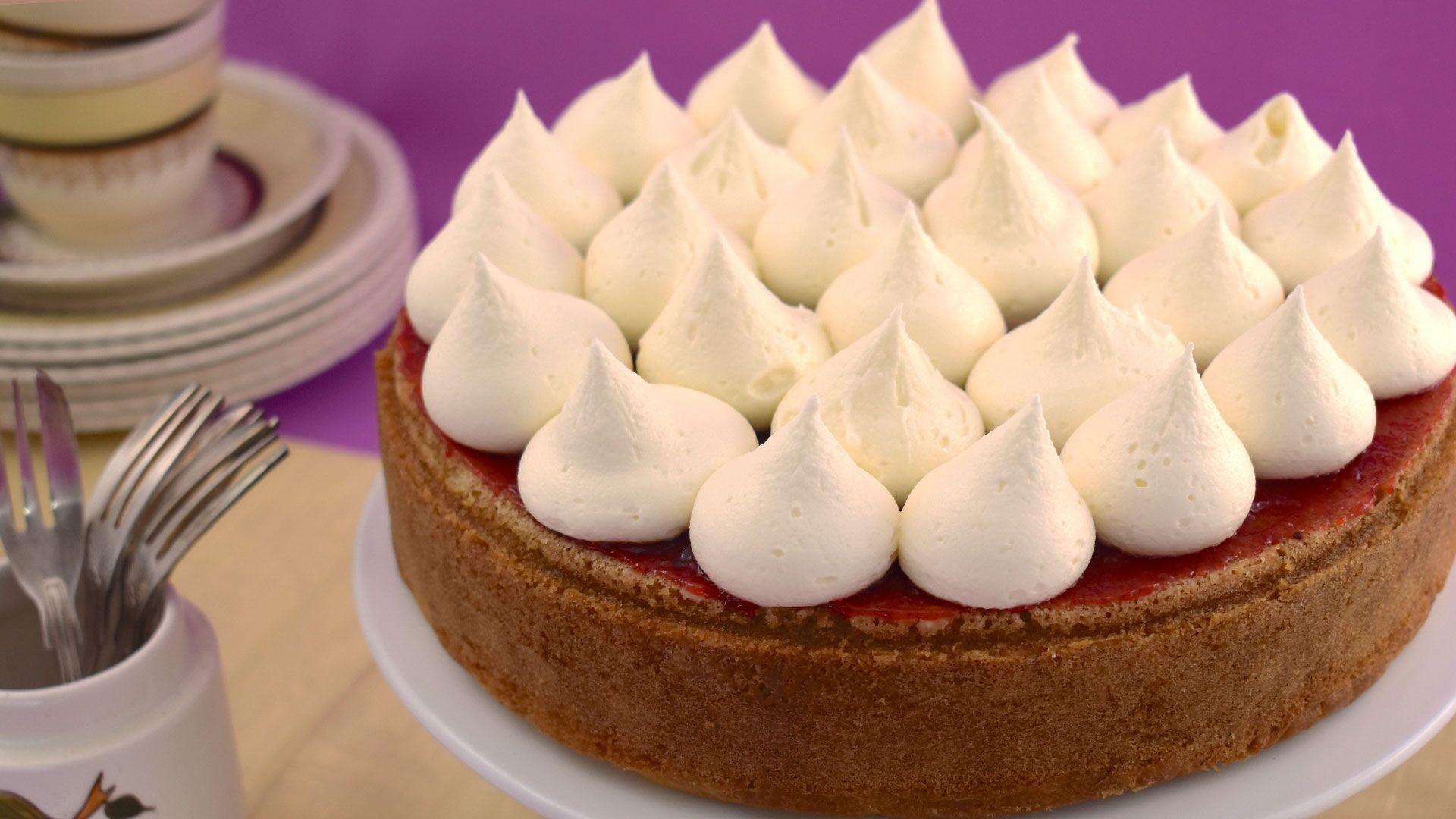 vanilla cake, baking, cake