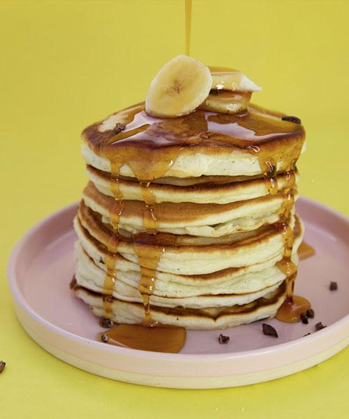 05 vegan sugar free pancakes