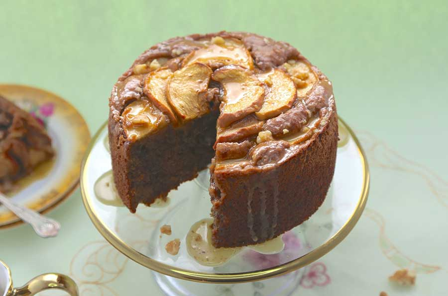 Vegan Gluten Free Apple Cake