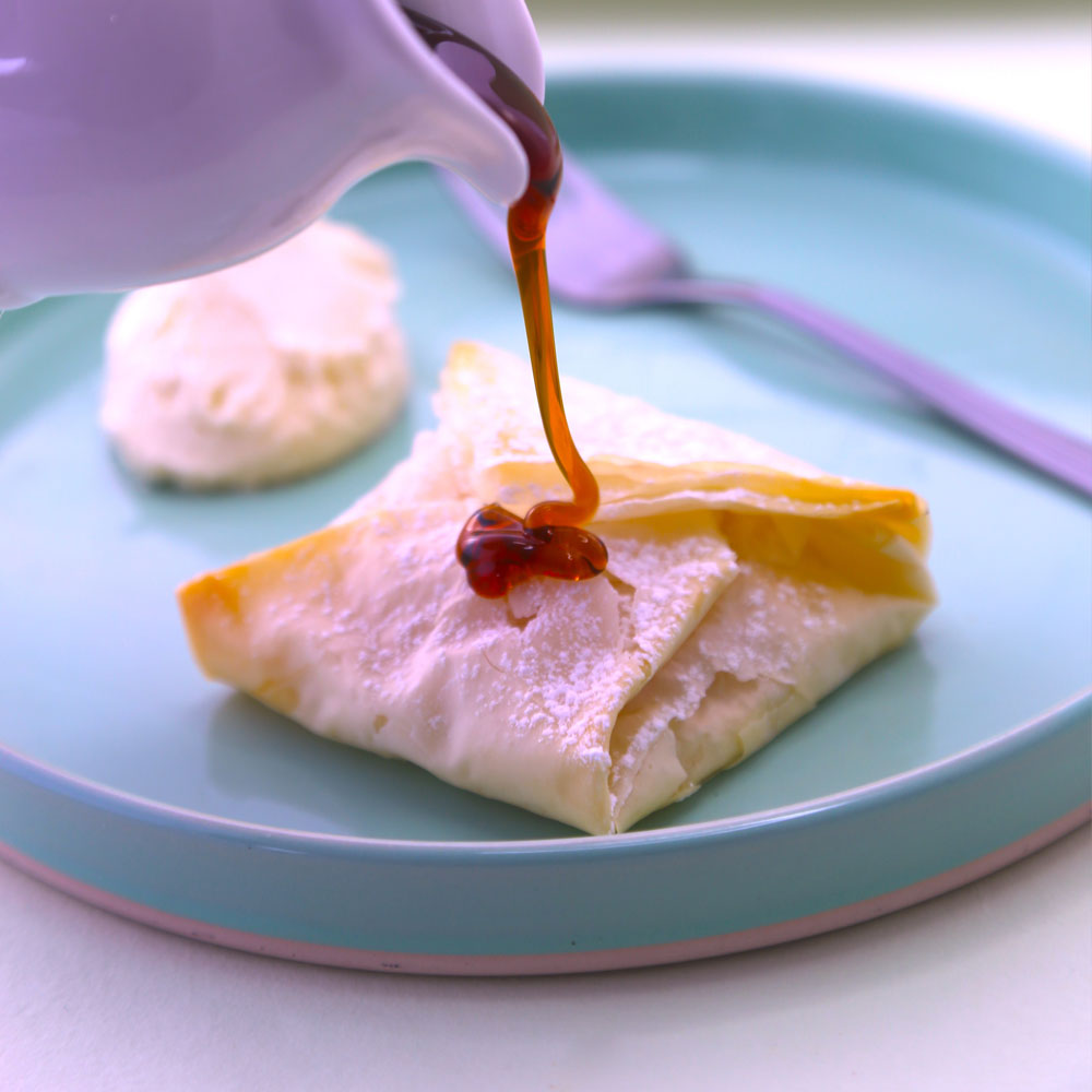 Vegan Apricot Parcels