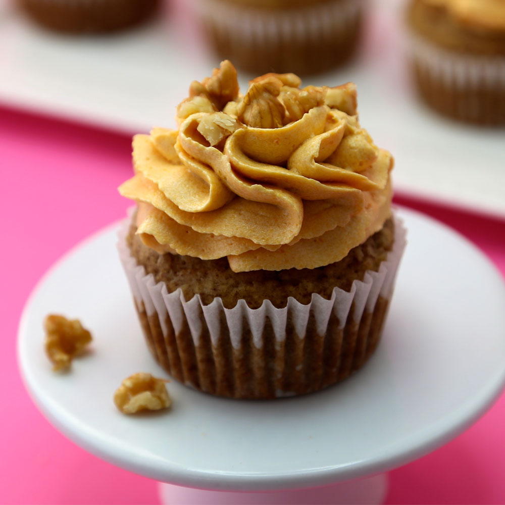 Vegan Caramel Cupcakes Sugar Free