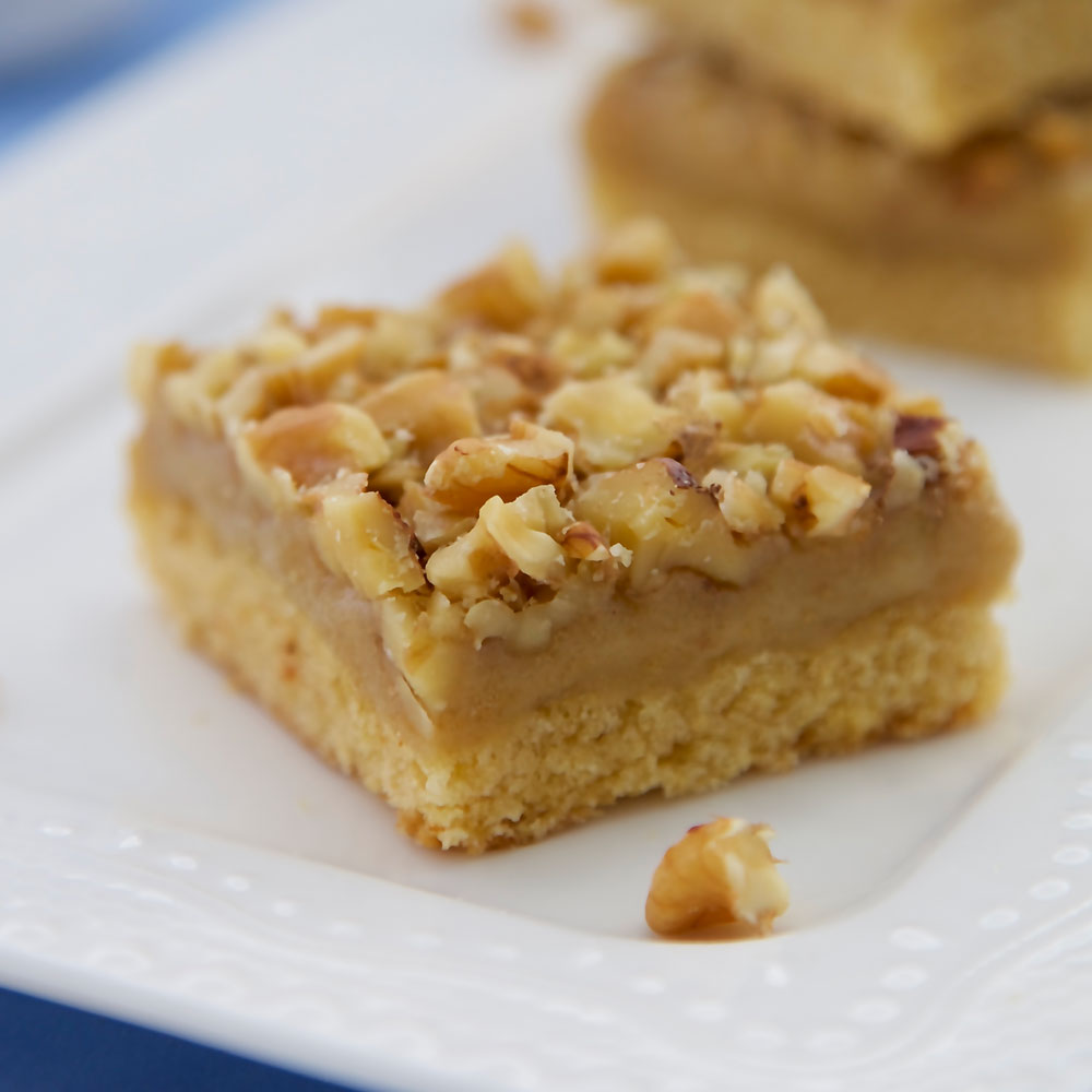 vegan walnut ginger slice recipe