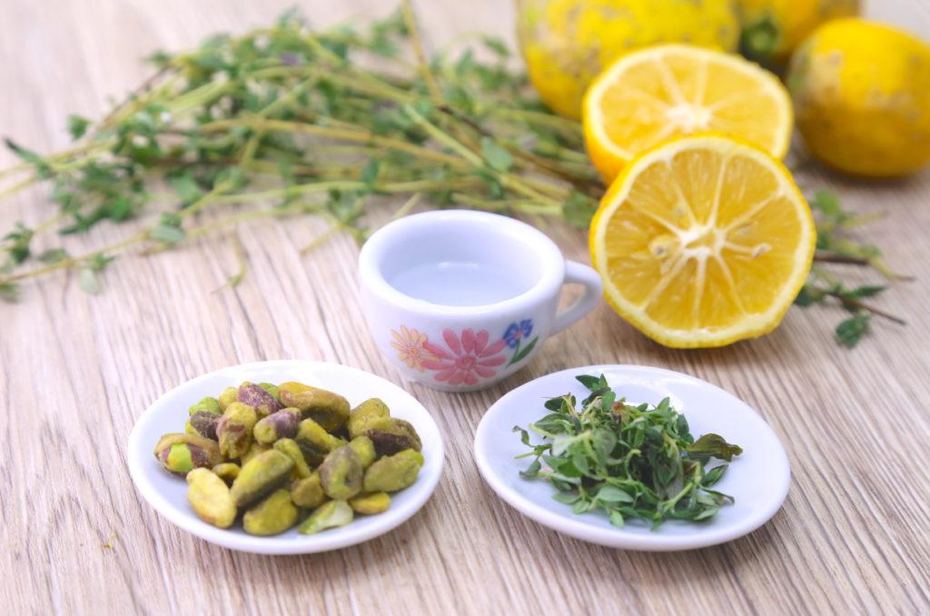 Gluten Free Vegan Rosewater Thyme Shortbread