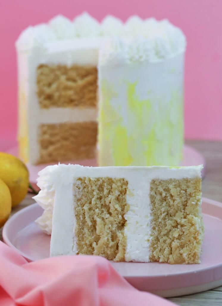 Two Layer Lemon cake image from Sara Kidd