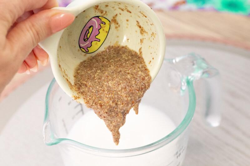 Vegan Coconut Cake Step 4