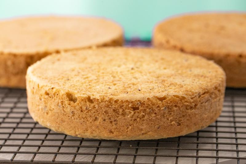 Vegan Coconut Cake Step 9