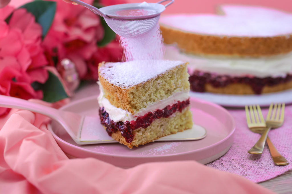 Vegan Sponge Cake by Sara Kidd