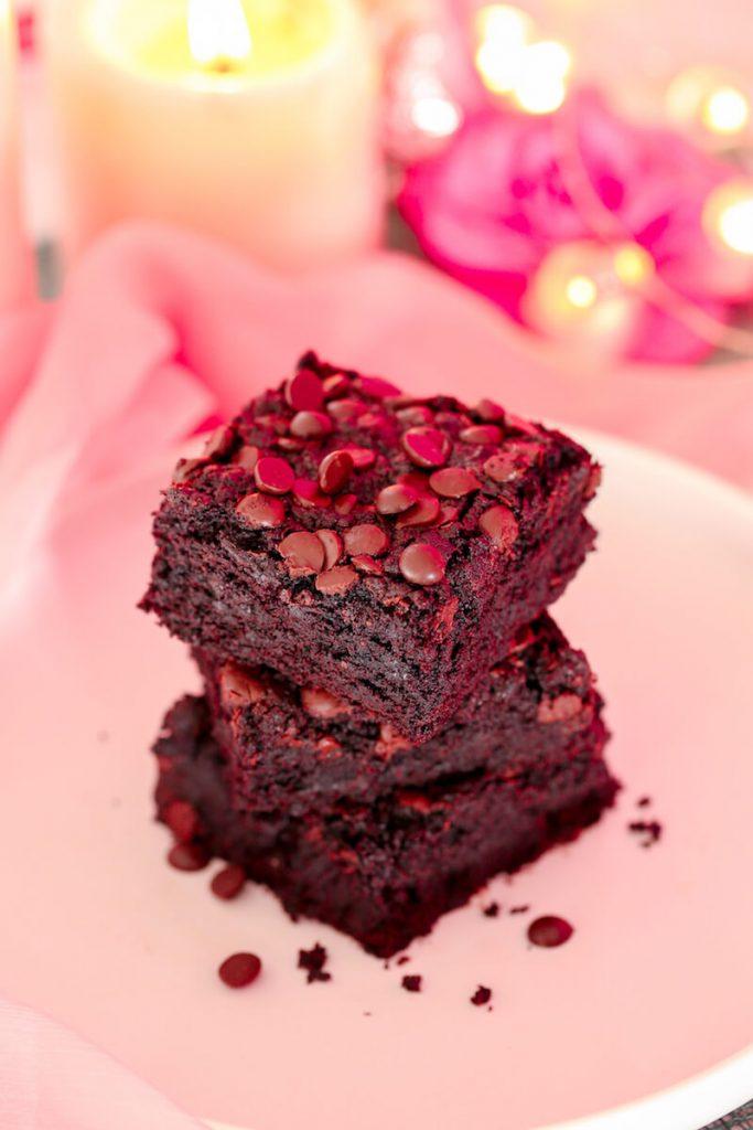 Vegan Chocolate Chip Brownie by Sara Kidd