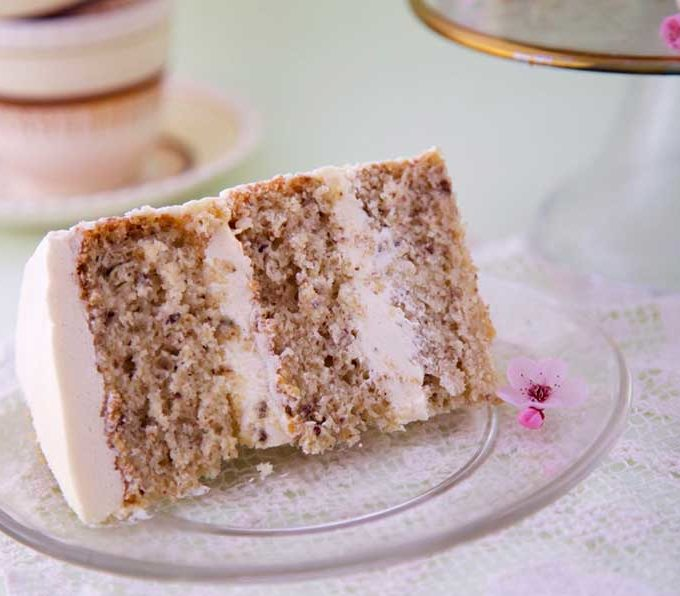 Gluten-Free Vegan Vanilla Cake