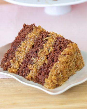 Vegan Germans Chocolate Cake