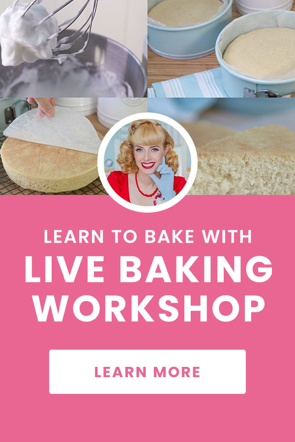Live Vegan Baking Workshop and Courses