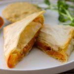 Vegan Curried Pumpkin Pastry Parcels