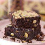 Vegan Tahini Brownies