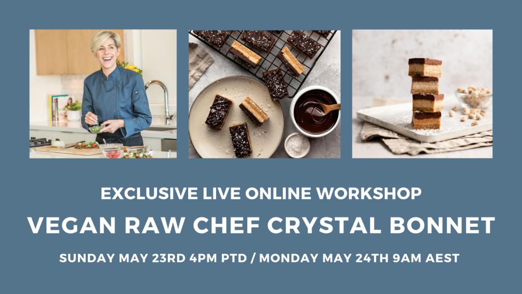 Workshop with Chef Crystal Bonnet