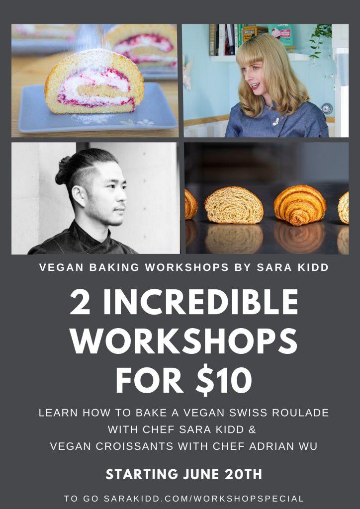 2 incredible workshops for 5 3