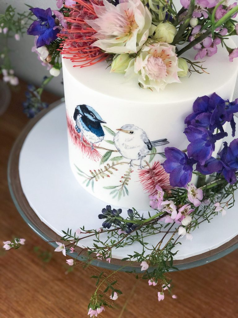 WORKSHOP Professional Cake Decorator Rebecca Greenberg teaches decorating with fondant and cake painting scaled