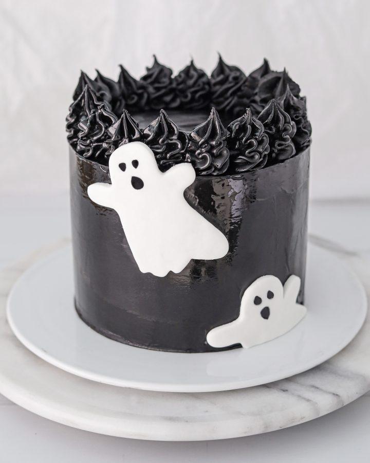 Vegan Halloween Cake